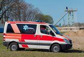 emergency car on survival sport