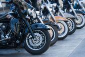 Motorbike Parade In Bangkok,