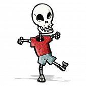 cartoon funny skeleton