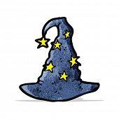 cartoon wizard hat