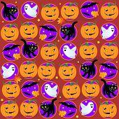 Seamless Halloween background