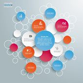 Colored Bubble Circles Infographic