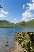The Lakes Crummock Water Lake District North West England UK between Buttermere and Loweswater
