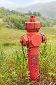 Emergency Hydrant In The Mountains