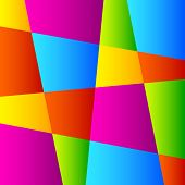 Abstract Colorful Geometric Background.