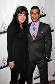 LOS ANGELES - OCT 16:  Pauley Perrette, Wilson Cruz at the 2014 Media Access Awards at Paley Center For Media on October 16, 2014 in Beverly Hills, CA