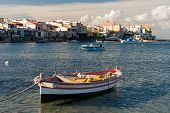 image of hamlet  - View of a fisher village in South Italy - JPG