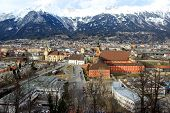 Panoramic view of Innsbruck