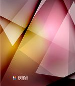 Orange and purple colors abstract hi-tech futuristic template