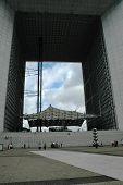 The Grande Arche in La Defense district