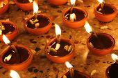 Oil Lamp During Prayer