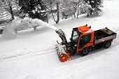 Barredora de nieve