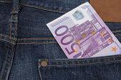 Euro (eur) In A Pocket.