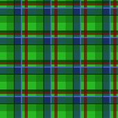 Plaid tartan seamless pattern, green style