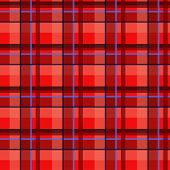 Plaid tartan seamless pattern, red style