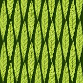 Seamless pattern with  leaves. Good idea for textile, wrapping, wallpaper or cloth design. Leaf background. Vintage illustration.