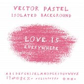 Vector pastel background