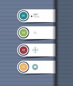 Infographic Step By Step Template