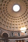 Interior of Pantheon in Rome, Italy