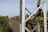 Electricity Pylon For Railways