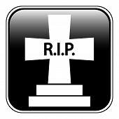 Grave Symbol Button