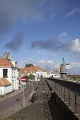 Harbor Front Of Wijk Bij Duurstede