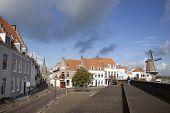 People Visiting The Old Town Of Wijk Bij Duurstede