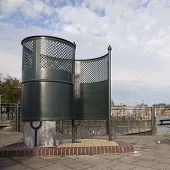 Old Fashioned Public Toilet In Amsterdam