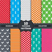 image of faq  - Seamless patterns and textures - JPG
