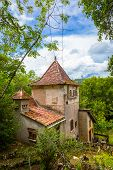 foto of naturel  - Little structure at Saint Circ Lapopie in France - JPG