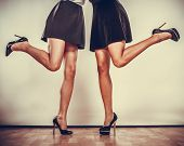 picture of black heel  - Female fashion - JPG