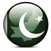 picture of pakistani flag  - Vector Image  - JPG