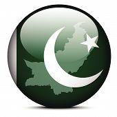 foto of pakistani flag  - Vector Image  - JPG
