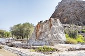 picture of oman  - Image of the famous Colemans Rock in Oman - JPG