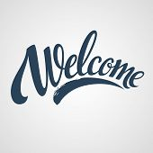 pic of letter  - Welcome  hand lettering - JPG