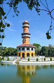 picture of freedom tower  - AYUTTHAYA THAILANDi  - JPG