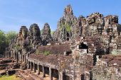 stock photo of southeast  - Bayon  - JPG