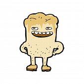 picture of bad teeth  - retro comic book style cartoon bad tooth - JPG