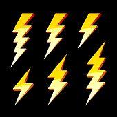 Blitz-Symbole