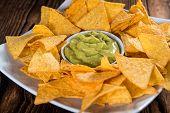 stock photo of nachos  - Some Nachos  - JPG