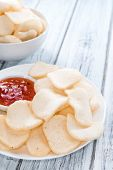 picture of chinese crackers  - Fresh Krupuk  - JPG