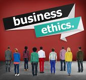 picture of integrity  - Business Ethics Integrity Honesty Trust Concept - JPG