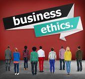 foto of honesty  - Business Ethics Integrity Honesty Trust Concept - JPG