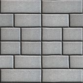 image of paving  - Gray Paving Slabs in the Form Rectangles of Different Value - JPG
