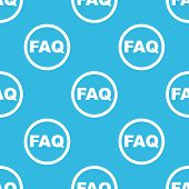 picture of faq  - Text FAQ in circle - JPG