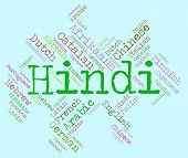 pic of dialect  - Hindi Language Meaning Languages Words And India - JPG