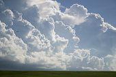 Clouds Over Old San Juan