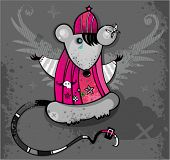 Emo Rat. To see similar, please visit my gallery