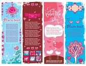 Set of Valentine's day grunge banners 2.  To see similar, please VISIT MY GALLERY.