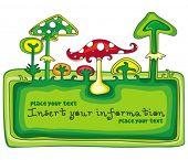 Mushrooms banner.